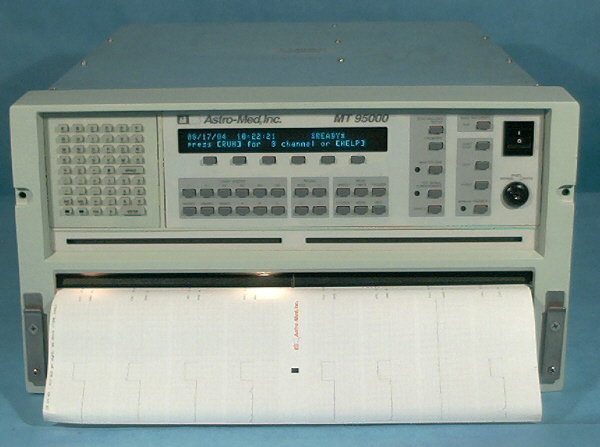 ASTRO-MED MT95000 RECORDER, STRIP CHART